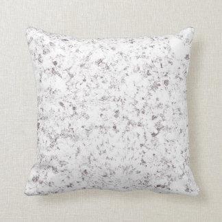 purple white mottled background throw pillow