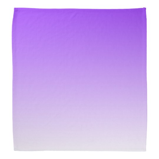 purple white ombre bandana