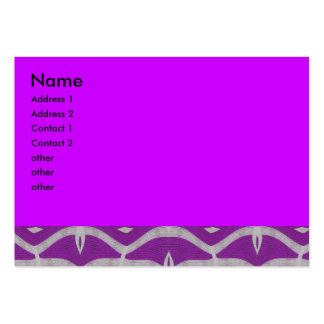 purple white pattern abstract business cards
