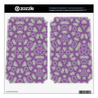 Purple & White Pattern Turtle Beach X41 Skins