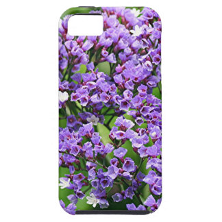 Purple & white Statice (limonium) flower in bloom iPhone 5 Covers