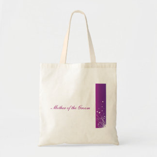 Purple & White Wedding Bag Mother of the groom