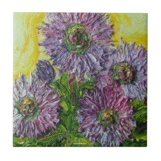 Purple Wild Bergamont Tile