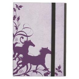 Purple Wild Horses Case For iPad Air