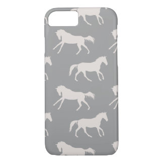 Purple Wild Horses iPhone 7 Case