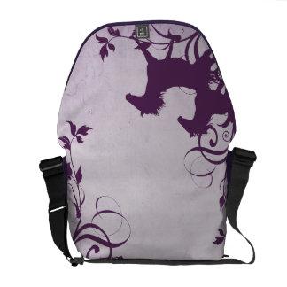 Purple Wild Horses Courier Bags