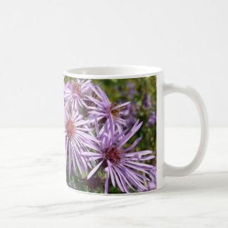 Purple Wildflower Coffee Mugs
