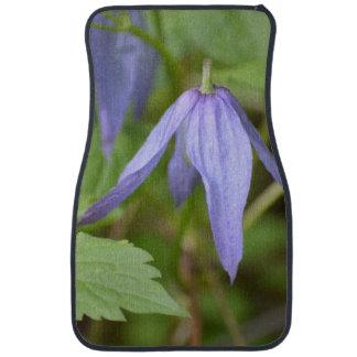 Purple Wildflower Floor Mat