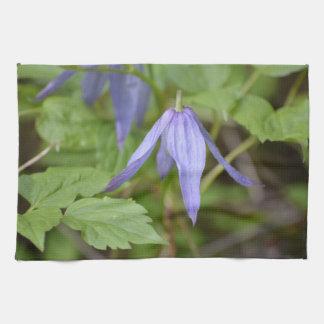 Purple Wildflower Kitchen Towels