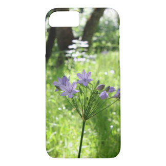 Purple Wildflower Phone Case