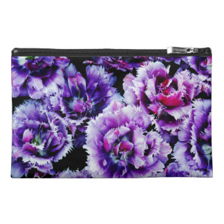 Purple Wildflowers Travel Accessory Bag