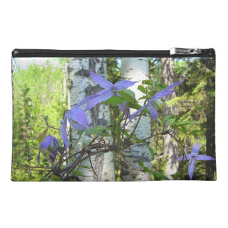Purple Wildflowers Travel Accessory Bags