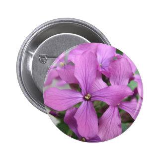 Purple Wildflowers Button