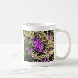 Purple Wildflowers Coffee Mugs