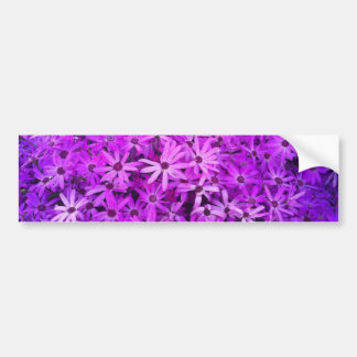 Purple Wildflowers For Hope Bumper Sticker