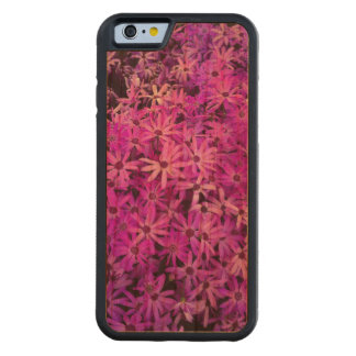 Purple Wildflowers For Hope Carved Cherry iPhone 6 Bumper Case