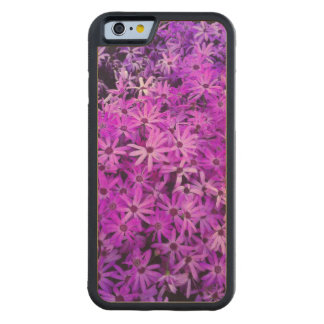 Purple Wildflowers For Hope Carved Maple iPhone 6 Bumper Case