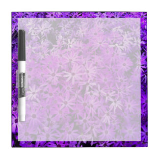 Purple Wildflowers For Hope Dry-Erase Boards