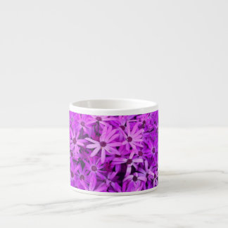 Purple Wildflowers For Hope Espresso Cup