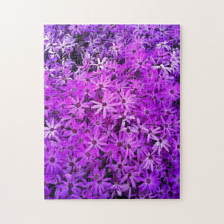 Purple Wildflowers For Hope Puzzles
