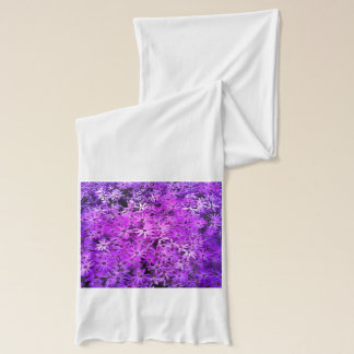 Purple Wildflowers for Hope Scarf