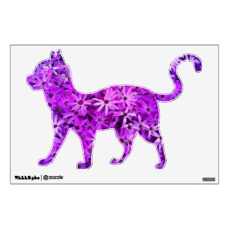 Purple Wildflowers For Hope Wall Decal