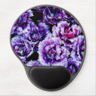 Purple Wildflowers Gel Mouse Mat