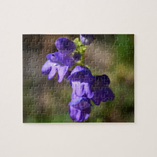 Purple wildflowers in the Mountains puzzle