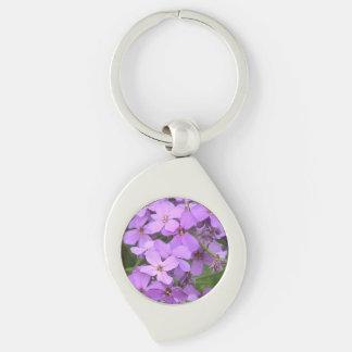 Purple Wildflowers Keychain