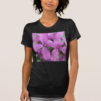 Purple Wildflowers Ladies T Shirt