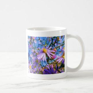 Purple Wildflowers Mug