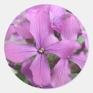 Purple Wildflowers Sticker