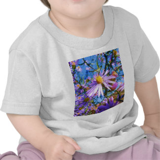 Purple Wildflowers Shirts