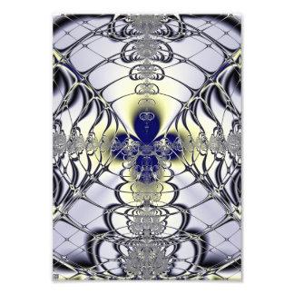 Purple Window Photo Print