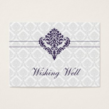 purple wishing well cards