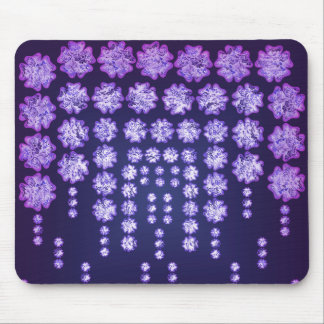Purple Wisteria Flower Garden Japanese Tree Bold Mouse Pad