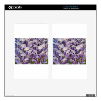 Purple Wisteria Kindle Fire Skins
