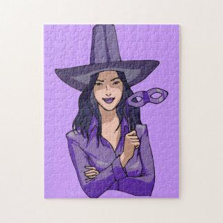 Purple Witch Puzzle