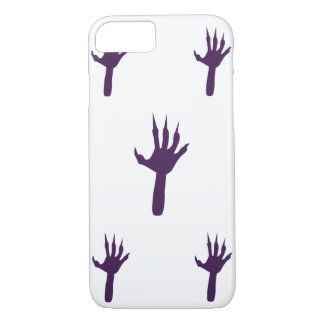Purple witches hands Halloween iPhone 7 Case