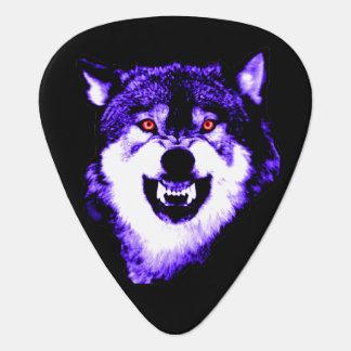 PURPLE WOLF GUITAR PICK