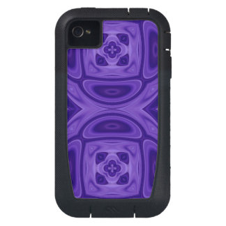 Purple wood abstract pattern iPhone4 case