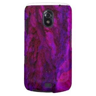 Purple Wood Bark Textures Galaxy Nexus Cover