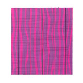 Purple Wooden Grunge Background Notepad