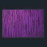 """Purple Woodgrain Placemat<br><div class=""""desc"""">Purple with black woodgrain effect</div>"""