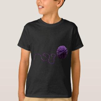 Purple Yarn Ball T-Shirt