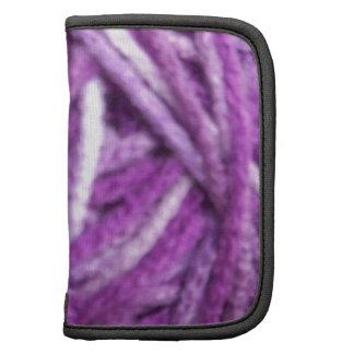 Purple Yarn Folio Planners