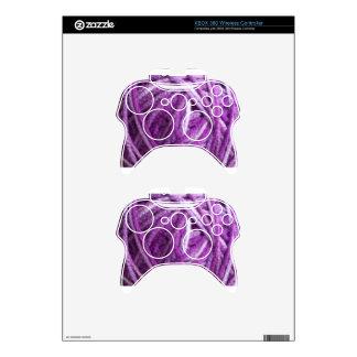 Purple Yarn Xbox 360 Controller Skin