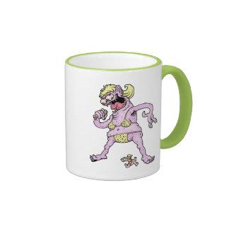 Purple Yellow Bikini Monster Ringer Mug