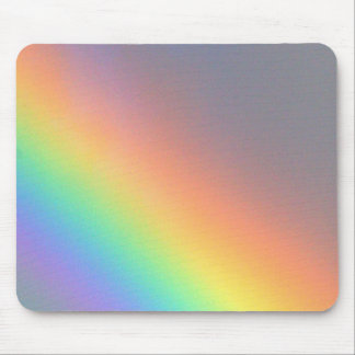 purple yellow blue red rainbow mouse pad