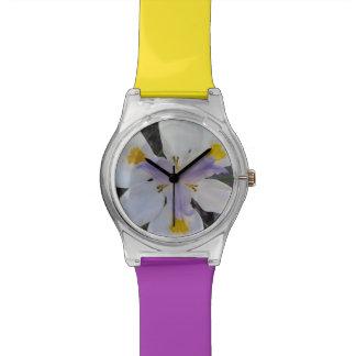 Purple & Yellow Iris Watch